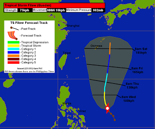 Weather Ngayon | Tropical Storm Fitow (Quedan) Update #1